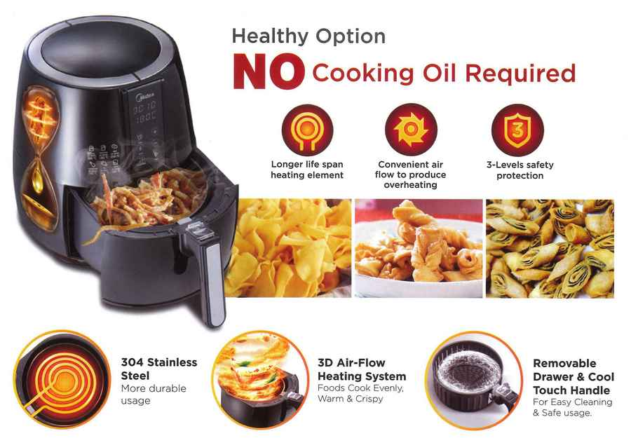 2. Midea Air Fryer MAF-CN20A review - Best Value Buy Air Fryer image