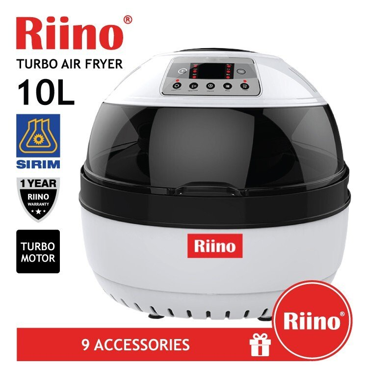 6. RiiNO Turbo Air Fryer AF506E review - Best for Big Families