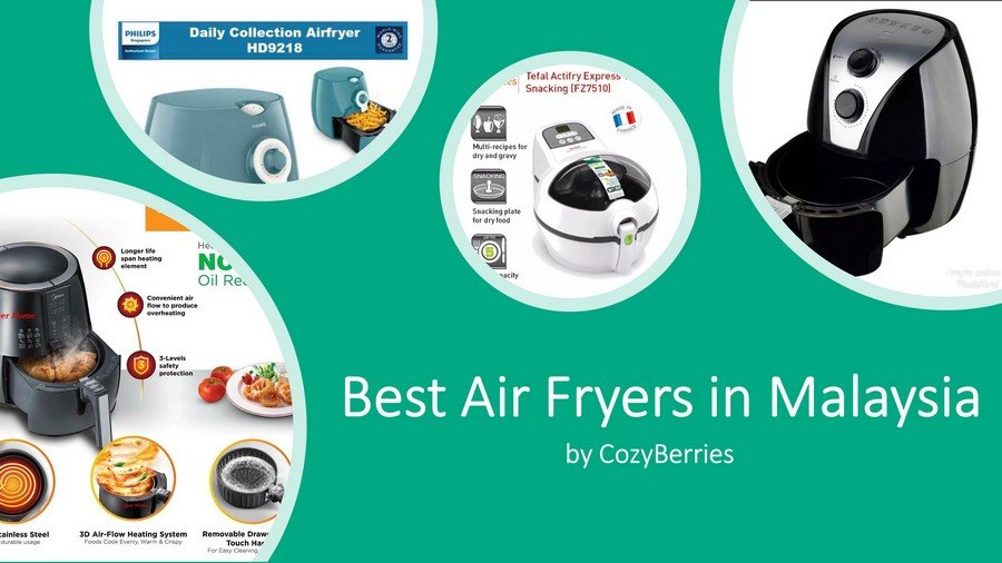9 Best Air Fryers in Malaysia 2020: For Healthy Oil-Free Cooking