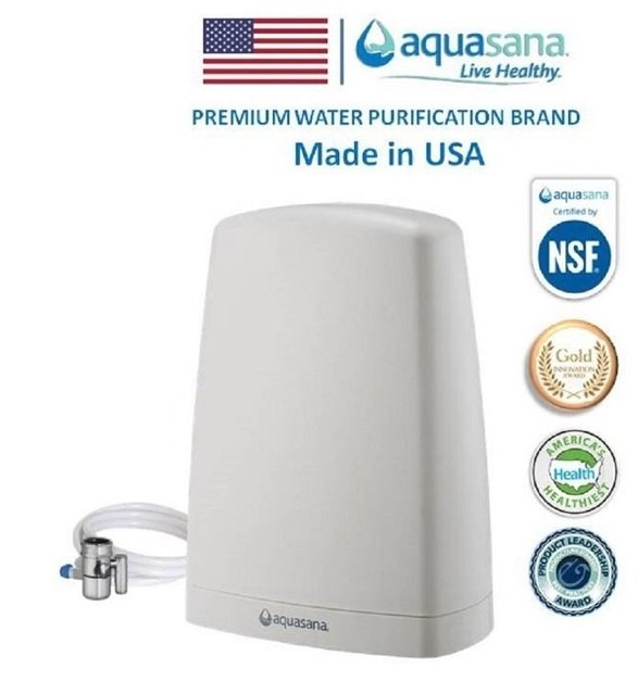 1. Aquasana AQ-4000W-DVPI Water Filter Review - Best Overall Water Filter image