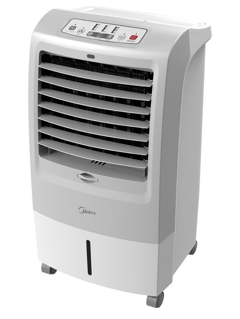 1. Midea Ionizer Air Cooler MAC-215F Review - Best Air Cooler (Overall) image