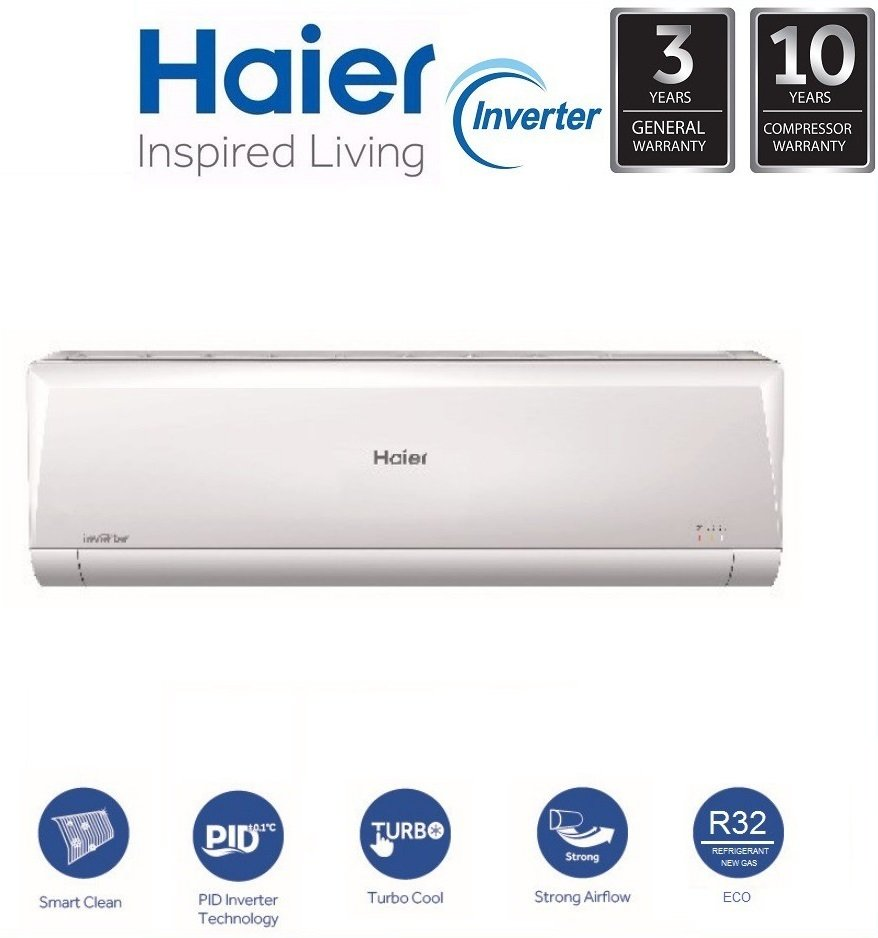 2. Haier HSU-09VNR18 Review - Best 1 HP Inverter Air Conditioner image