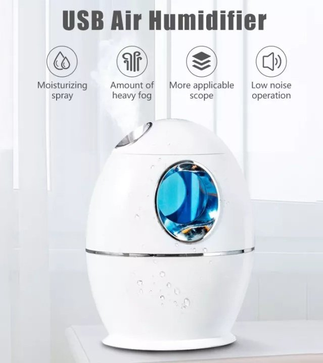 4. Ultrasonic Air Humidifier Review – Best Portable Humidifier image