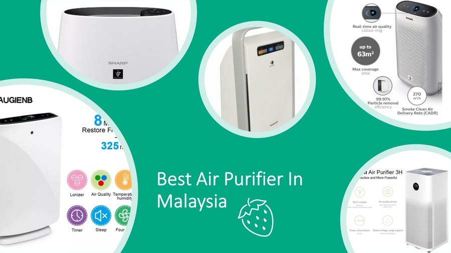 5 Best Air Purifiers In Malaysia 2020 Review: HEPA & Ionizer image