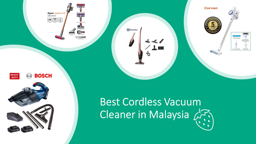 Best Cordless Vacuum Cleaner in Malaysia 2021 Review & Guide Image