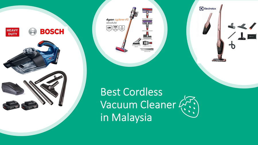 Best Cordless Vacuum Cleaner in Malaysia 2020 Review & Guide image