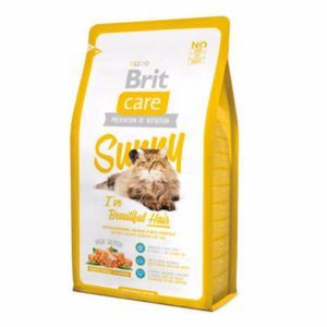 6. Brit Care Cat Sunny I've Beautiful Hair [Review] - Best Dry Cat Food for Coat & Hair image
