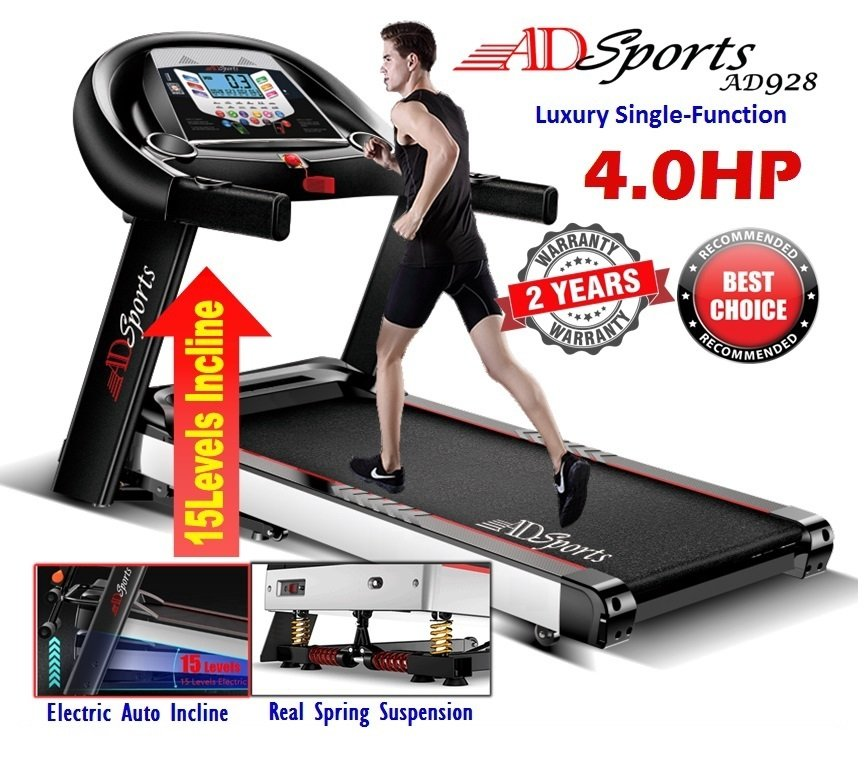 4. ADSports AD928 Motorized Electric Treadmill Review image