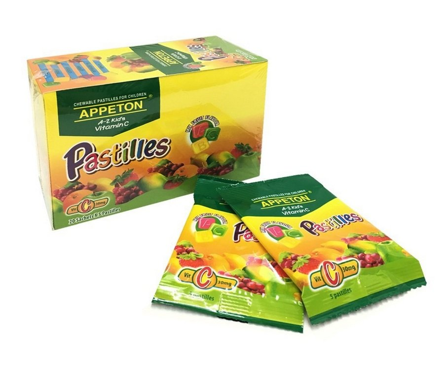 4. APPETON A-Z Kid's Vitamin C Pastilles Review image