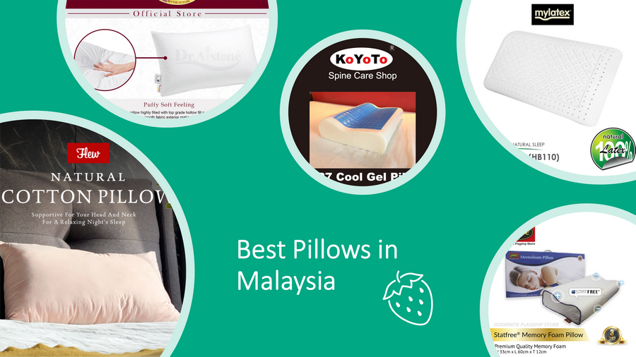 5 Best Pillows In Malaysia: Neck Care & Quality Sleep [2021] image