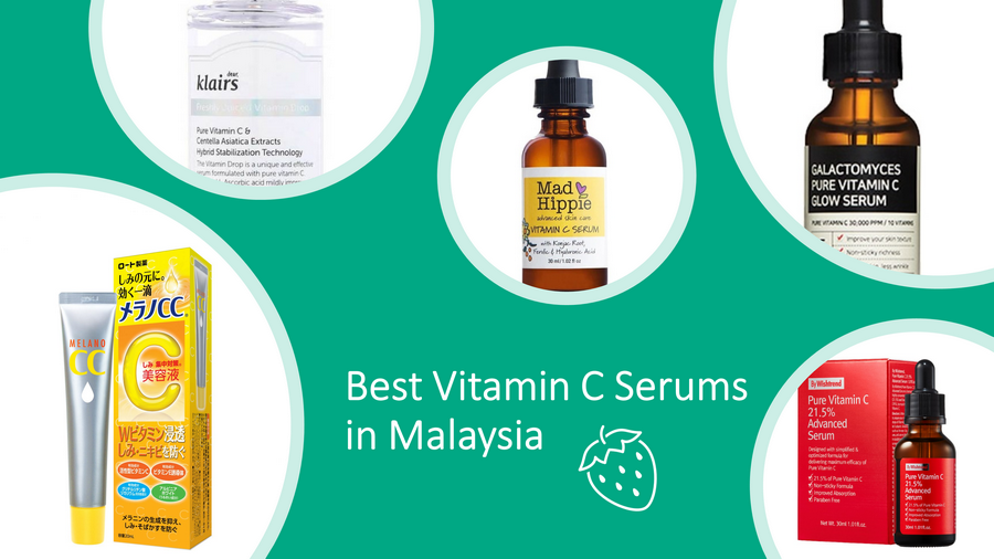 5 Best Vitamin C Serums In Malaysia 2021 Review: Fight Aging image