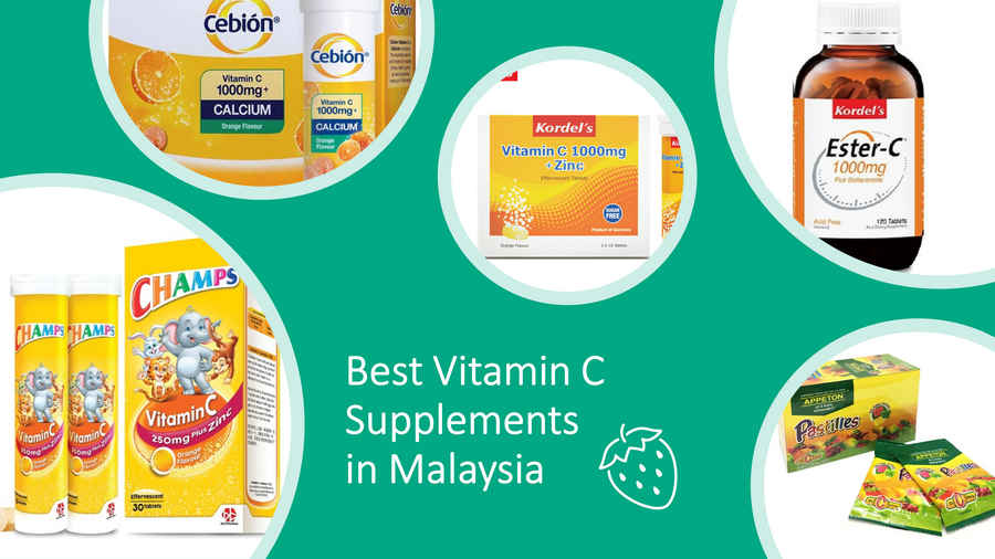 5 Best Vitamin C Supplements In Malaysia 2021 for Healthy Life image