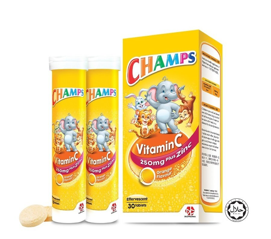 5. CHAMPS Vitamin C plus Zinc Effervescent Review image