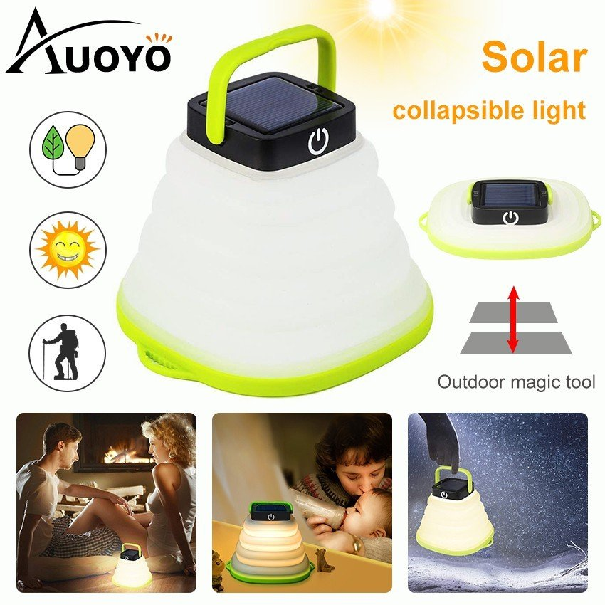 5. Auoyo Solar Rechargeable Lantern for Outdoor Camping [Review] image