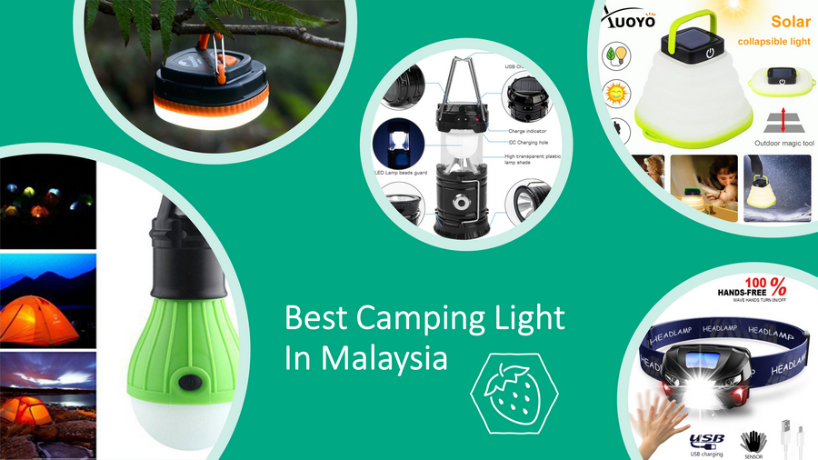 5 Best Camping Lights In Malaysia 2021 Review: Outdoor Use image