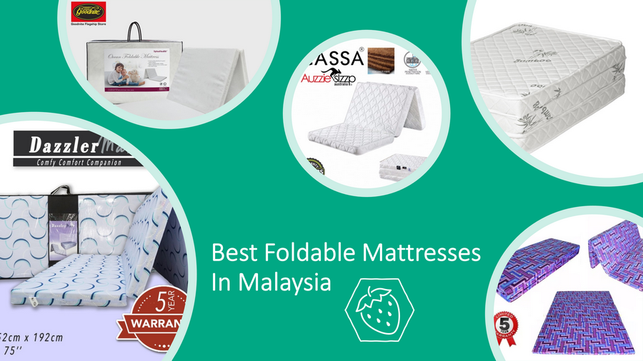 5 Best Foldable Mattresses In Malaysia 2021: Easy To Keep! image