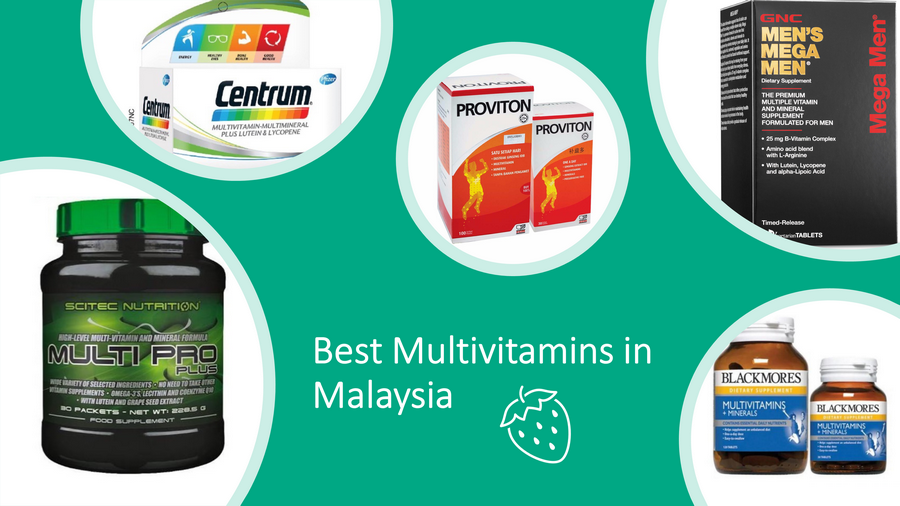 5 Best Multivitamins In Malaysia 2021: Balanced Nutrients image