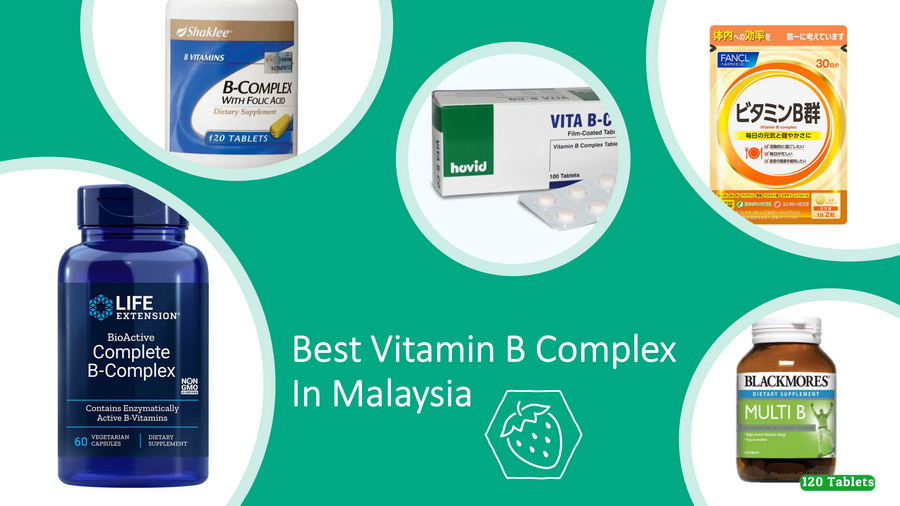 5 Best Vitamin B Complex In Malaysia 2021 Review: Complete! image