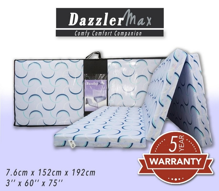 2. Dazzler Max Three Fold High-Grade Synthetic Rebond Mattress [Review] image