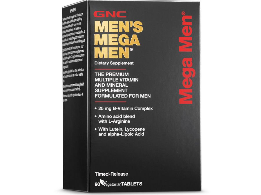 2. GNC Mega Men Active Multivitamins [Review] image
