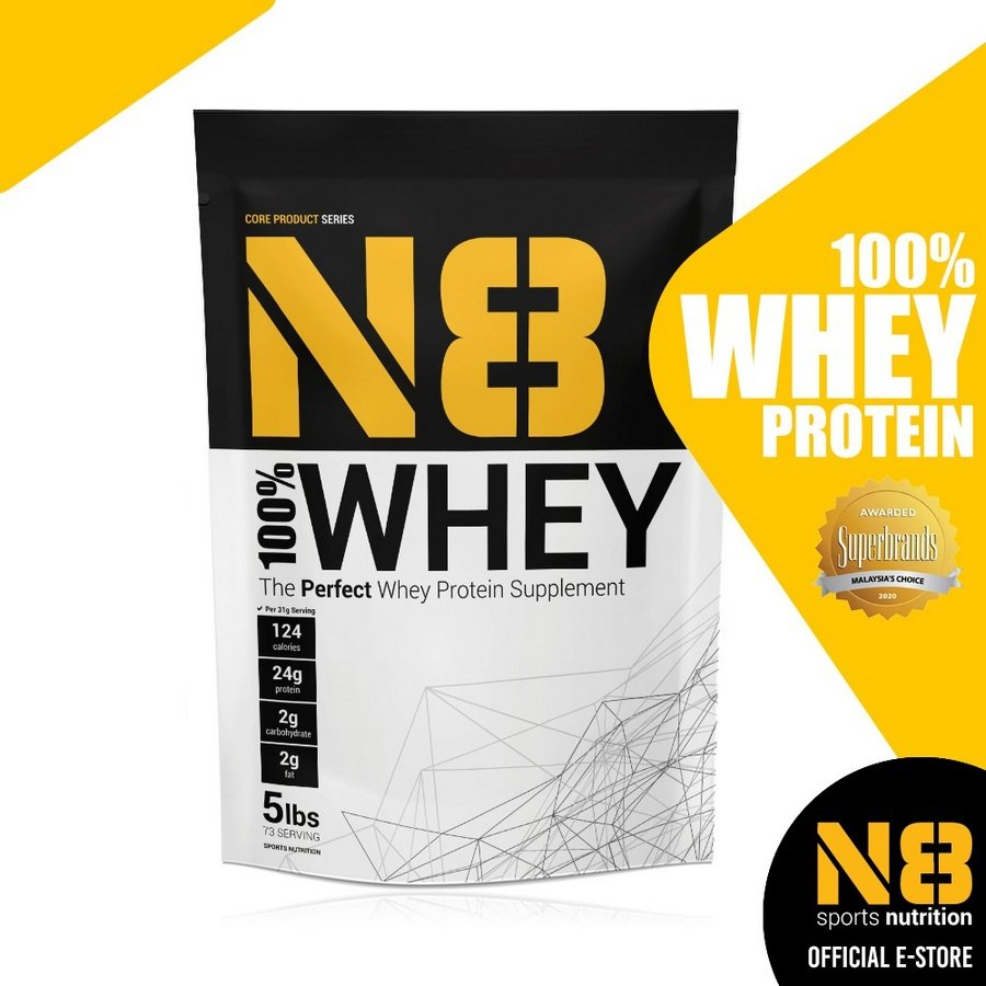 5. N8 100% Whey Protein [Review] image