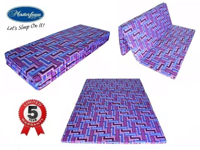 1. New Masterfoam Queen Size Foldable Mattress [Review] image
