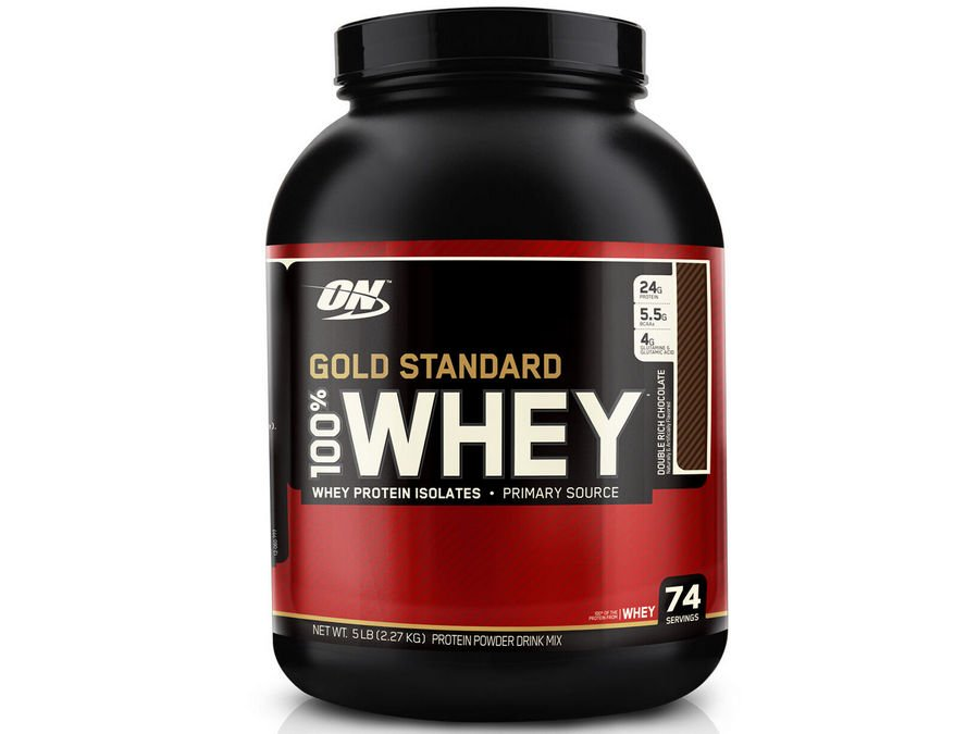 1. Optimum Nutrition Gold Standard 100% Whey Protein [Review] image