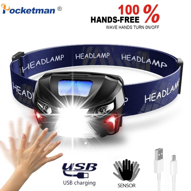 4. 10000Lm Powerful Headlamp Rechargeable Camping Light With USB [Review] image
