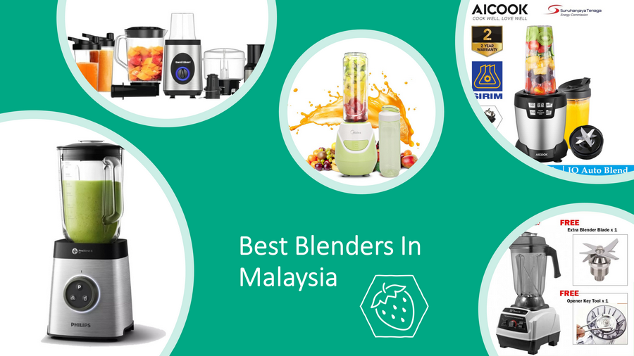 5 Best Blenders In Malaysia 2021 Review: Premium & Budget! image