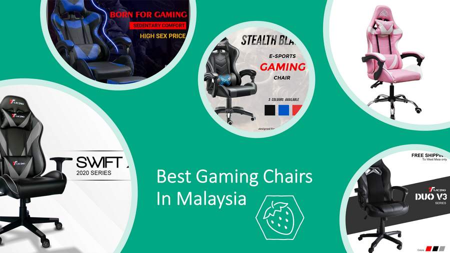 5 Best Gaming Chairs In Malaysia 2021: Comfortable & Value! image