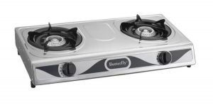 4. Butterfly Double Burner Gas Stove BGC-848 Review image